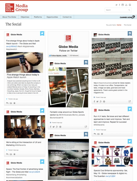 GlobeLink.ca/thesocial